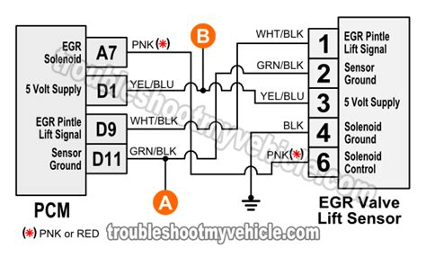 Egr Valve Lift Sensor Circuit Diagram Civic