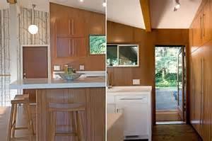 Kitchen Island Ideas Small Space Stylish Mid Century Kitchen Makeover