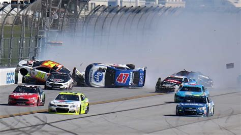All Nascar Crashes From Talladega (2017)