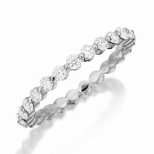 17 best images about henri daussi diamond wedding rings on With wedding ring with diamonds all the way around