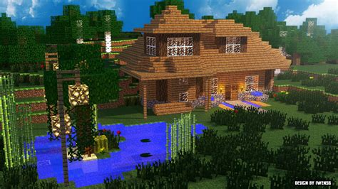 maison minecraft by iwen56 on deviantart