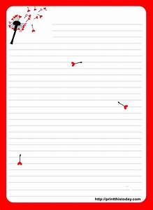 love letter pad stationery With love letter paper