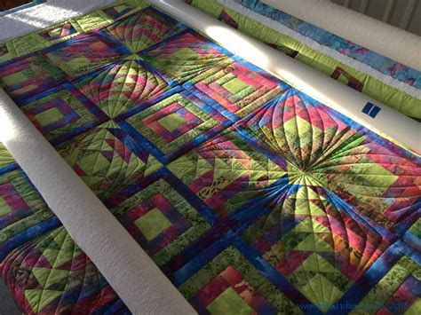 Longarm Quilting by Fabadashery Longarm Quilting Custom Quilting Combining
