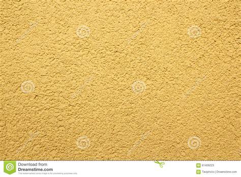Real Yellow Plaster Texture Royaltyfree Stock Photo