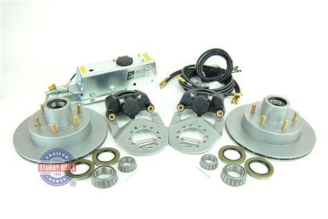 tie down brake disc axle kit actuator brakes single integral inch trailer vented categories