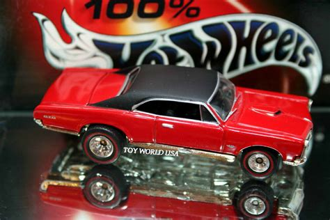 '96 100% Hot Wheels Pontiac Gto 30th Anniversary Of '67