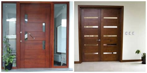 puertas de madera  te van  gustar  tu casa