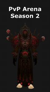 Transmogrification Warlock PvP Arena Season 2 Set WoD 61