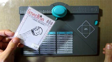 envelope punch board createur denveloppes   memory