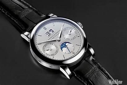 Lange Calendar Saxonia Annual Moon Phase Watches