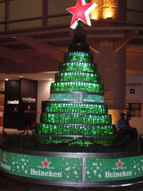 heineken christmas bottle heineken tree by miyukisasaki on deviantart