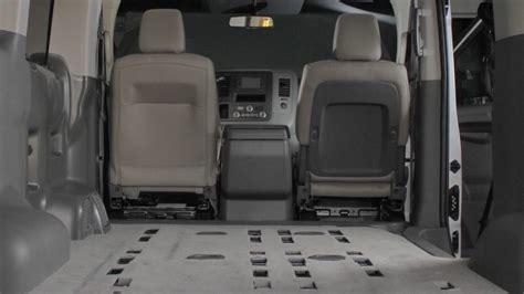nissan van interior 2017 nissan nv passenger van interior storage youtube