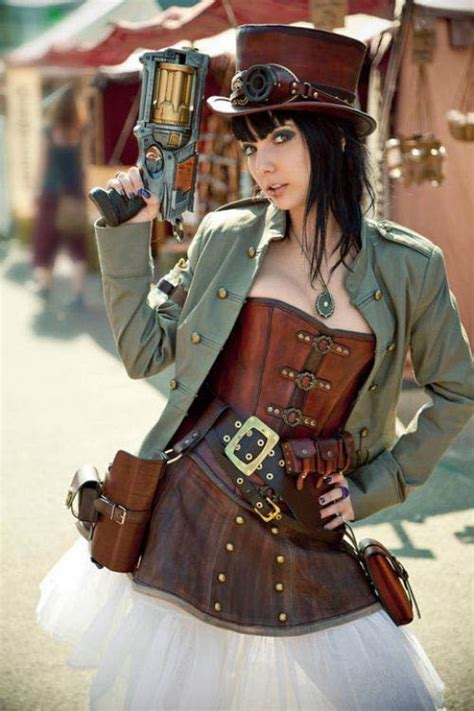 Steampunk girls     Mr Mojo Risin