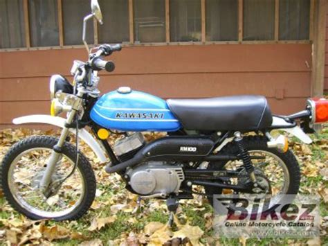 Kawasaki Km 100 by 1978 Kawasaki Km 100 Specifications And Pictures