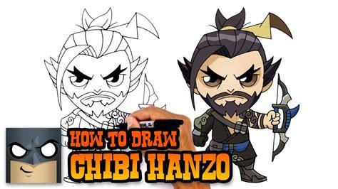 draw hanzo overwatch youtube