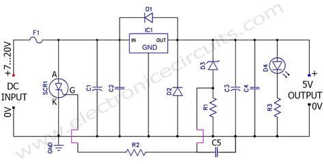 Regulated Power Supply Overvoltage Protection