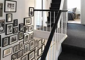 treppenhausgestaltung schoner wohnen With balkon teppich mit löcher in der wand tapete