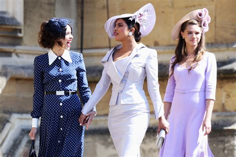 Priyanka Chopra Wedding Dress : Celebrities At Royal Wedding