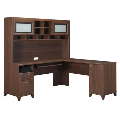 l shaped desk and hutch bush furniture pr67 achieve l shaped computer desk and