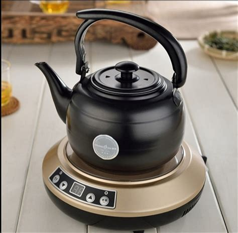 induction kettle tea water pot stainless steel quality cooker 1l coffee shipping