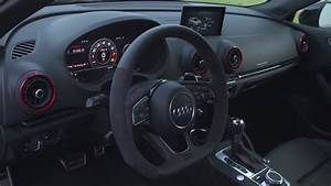New Audi RS3 Sportback 2017 Interior Design - YouTube