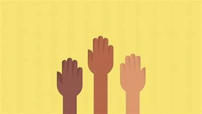 Responsibility Employee Communities Hands Raised Ibm Engagements