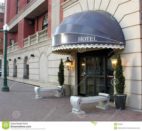 Hoteleingang Stockbilder  Bild 504254