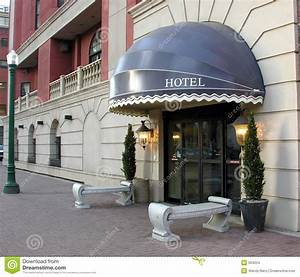 Hotel Entrance Stock Images