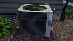 Quiet 1997 Lennox Elite Series Air Conditioner Running