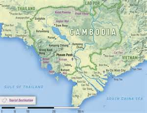 Cambodia Map 2016