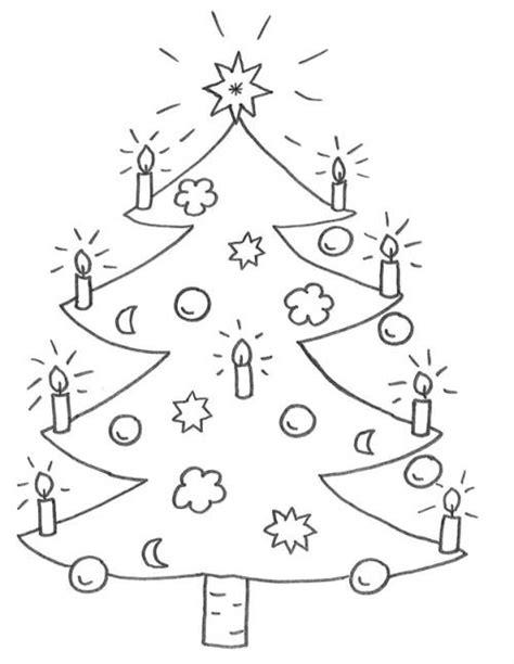 kostenlose malvorlage weihnachten weihnachtsbaum zum ausmalen