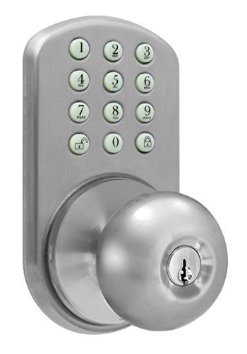 keypad door knob milocks tkk 02sn digital door knob lock with electronic
