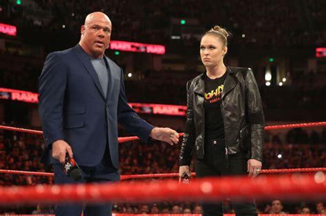 Kurt Angle Teases Wwe Royal Rumble 2019 Entrance