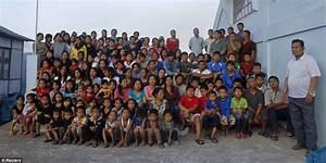 Ziona Chan has 39 wives, 94 children and 33 grandchildren ...