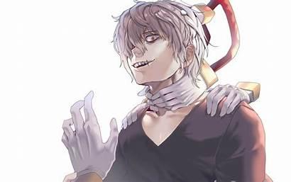 Shigaraki Tomura Academia Hero Boku Hands Smile