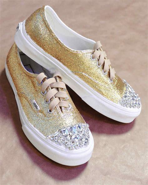 glittered sneakers video martha stewart