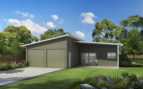 Australian Sheds And Garages by Skillion Roof Sheds And Garages Ranbuild