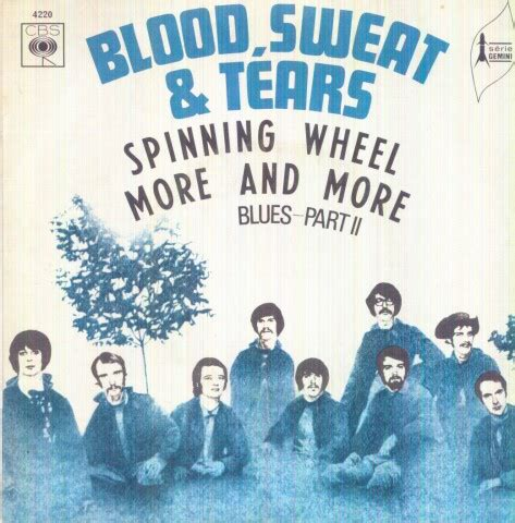 Blood Sweat and Tears Spinning Wheel