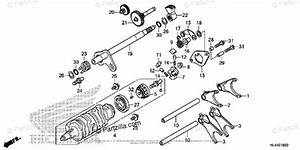 Honda Side By Side 2016 Oem Parts Diagram For Gearshift