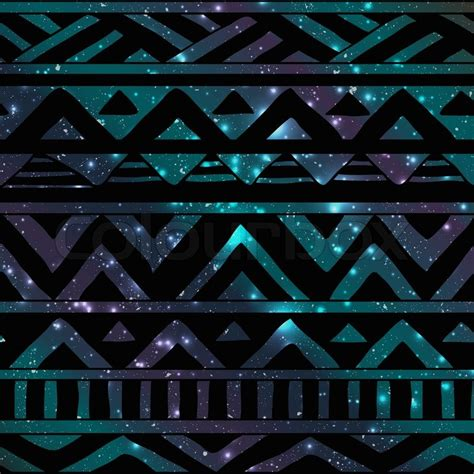Tribal Background Black Aztec Tribal Seamless Background Pattern