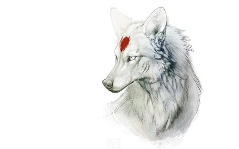 Wolf Drawing Wallpaper by Wolf Hd Wallpaper Background Image 1920x1200 Id