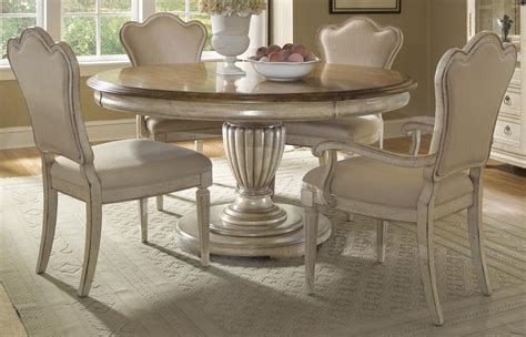 A.R.T. Provenance 5 pc Round Dining Set by Dining Rooms Outlet