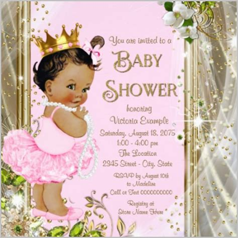baby shower invitation template   psd vector eps