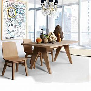 Salle A Manger Moderne : chaise moderne en bois massif brin d 39 ouest ~ Teatrodelosmanantiales.com Idées de Décoration