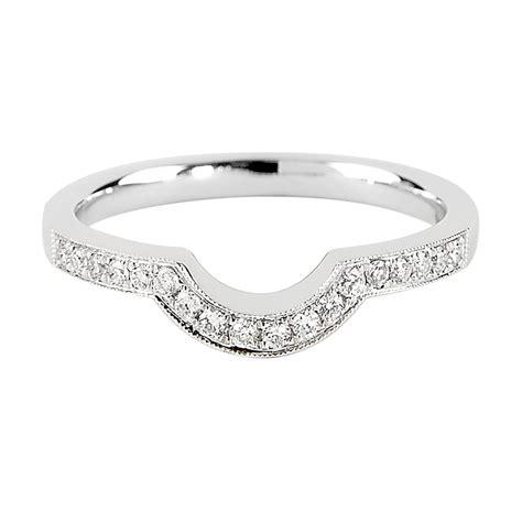 berry s platinum brilliant cut diamond shaped wedding ring dswc1