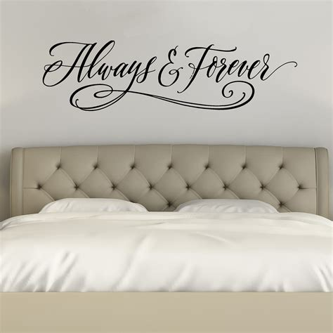 Bedroom Wall Decals by Always And Forever Wall Decals Bedroom Wall