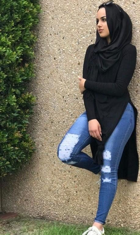 hijab jeans fashion style  android apk