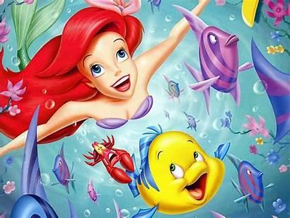 Mermaid Cartoon Animated Characters Series Ariel Disney