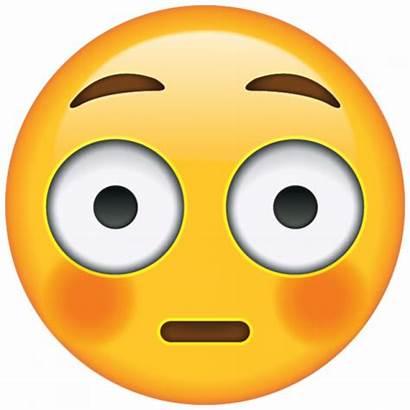 Emoji Easy Face Hard Flushed Assustado Emojis