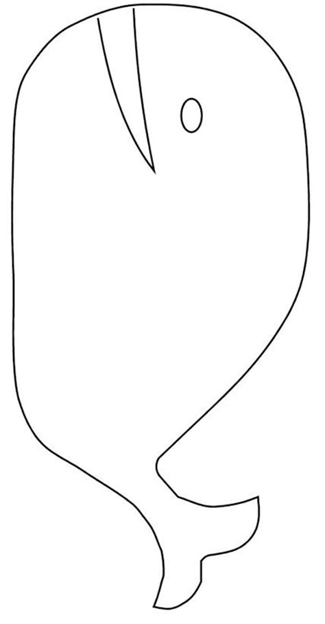 whale template whale template pattern